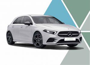 Imagen del renting Mercedes Benz Clase A. Mercedes renting particulares